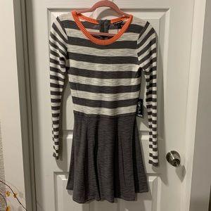Express long sleeve mini dress